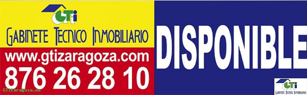 <![CDATA[Cartelería Gti oficina Carretera Castellón.]]> - Nave en alquiler en Las Fuentes – La Cartuja en Zaragoza - 331952809