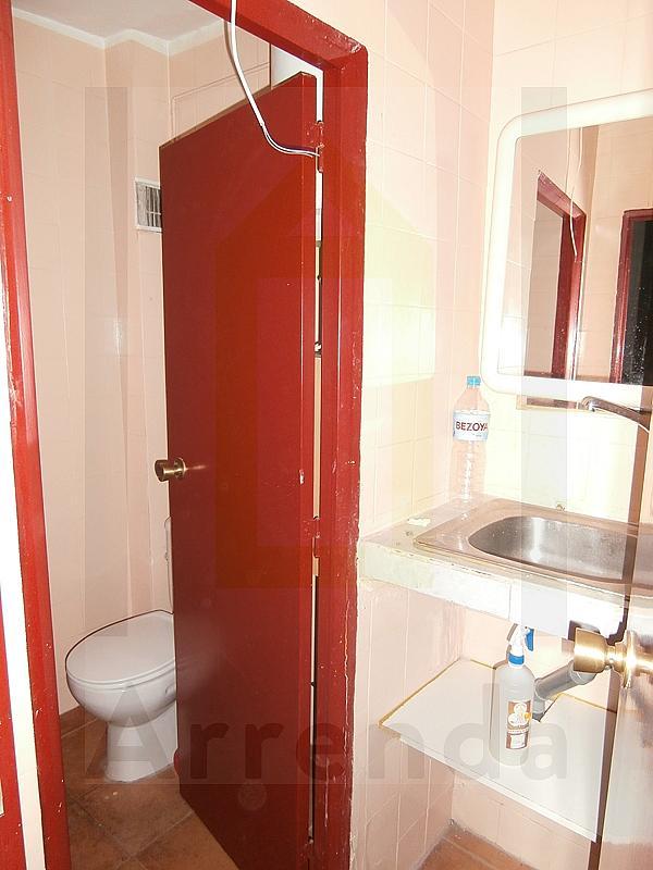 Baño - Local comercial en alquiler en calle La Huerta, Centro-Casco Antiguo en Alcorcón - 217429927