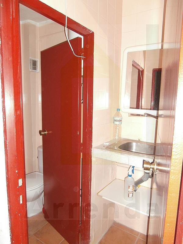 Baño - Local comercial en alquiler en calle La Huerta, Centro-Casco Antiguo en Alcorcón - 217429934