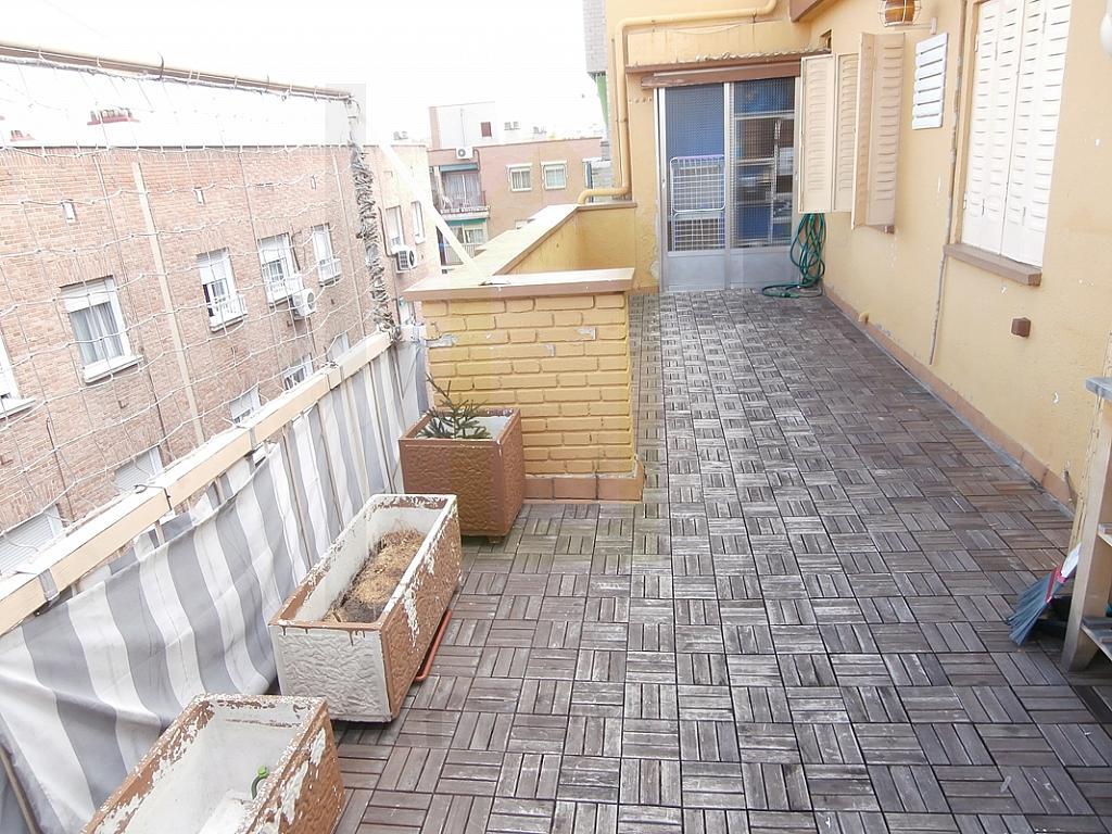 Terraza - Ático en alquiler en calle Jacinto Camarero, Opañel en Madrid - 226660040