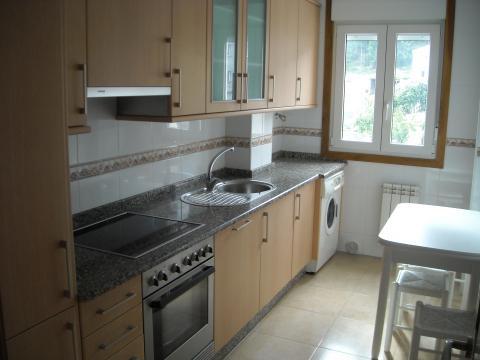 Cocina - Piso en alquiler en calle Manuel Platas Varela, Arteixo - 42779791
