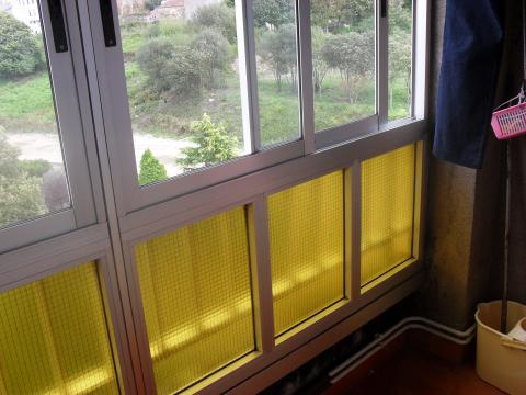 Terraza - Piso en alquiler en calle Francisco Mosquera, Arteixo - 45277705