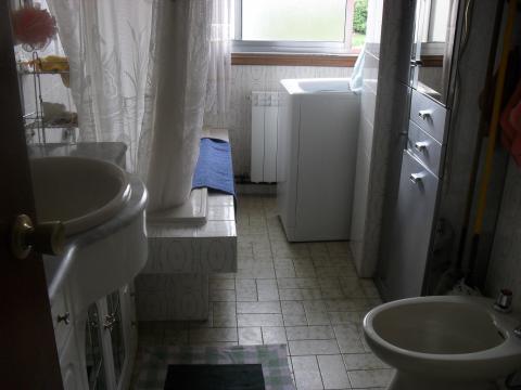 Baño - Piso en alquiler en calle Francisco Mosquera, Arteixo - 45277960