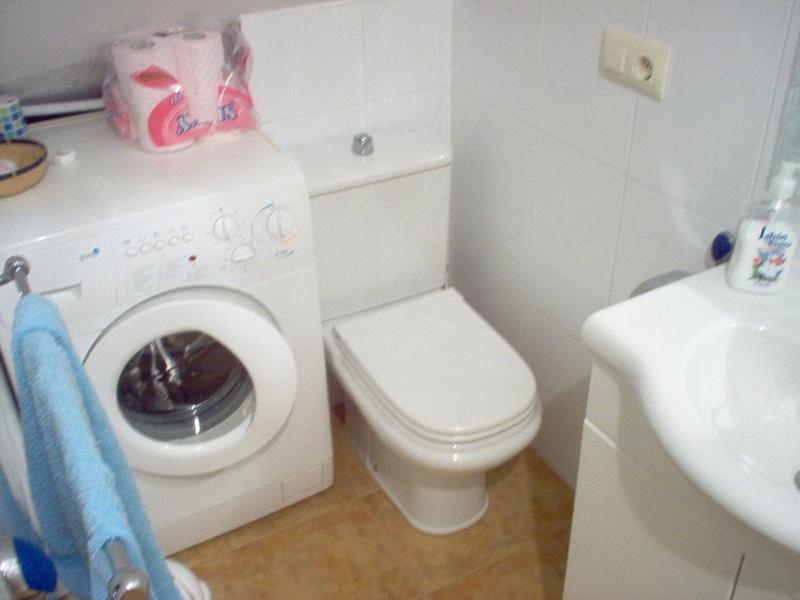Baño - Apartamento en alquiler en calle Playa Barrañán, Arteixo - 57939787