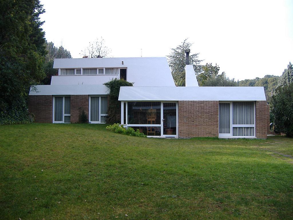 Fachada - Casa en alquiler en plaza Pi, Bellaterra - 320702914