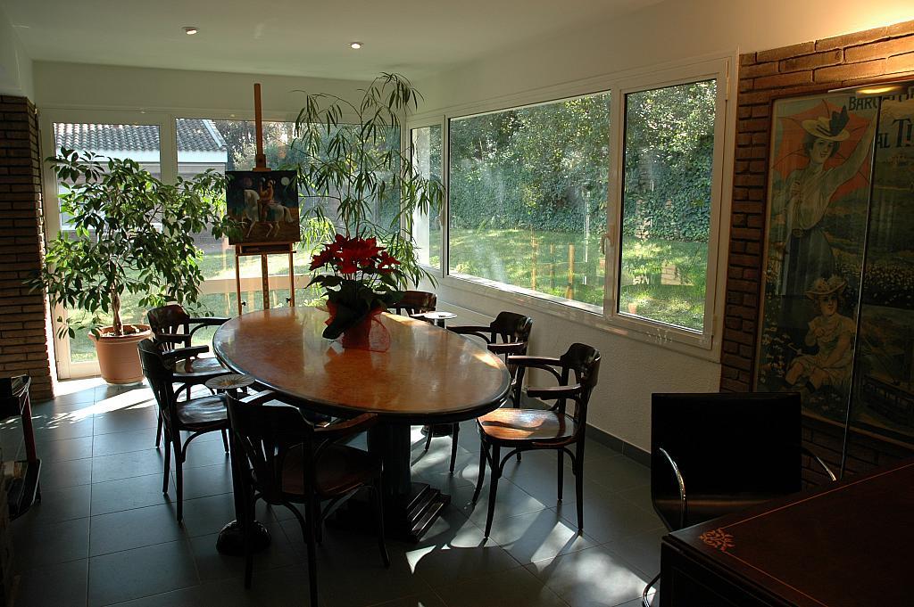 Comedor - Casa en alquiler en plaza Pi, Bellaterra - 320702915