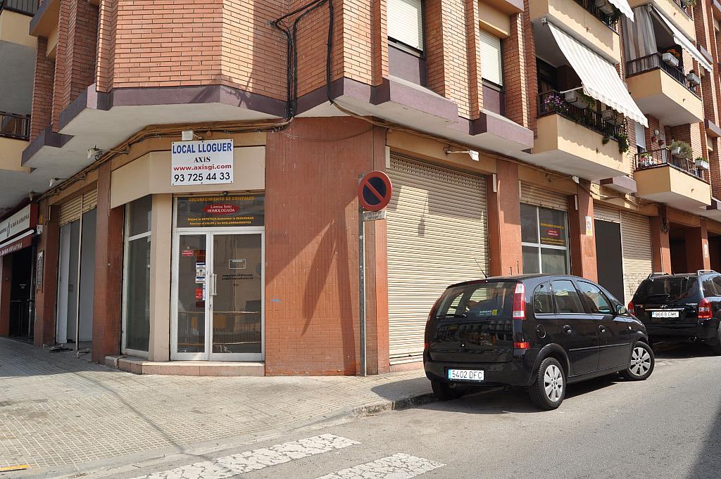 Fachada - Local en alquiler en carretera Barcelona, Centre en Cerdanyola del Vallès - 204599924