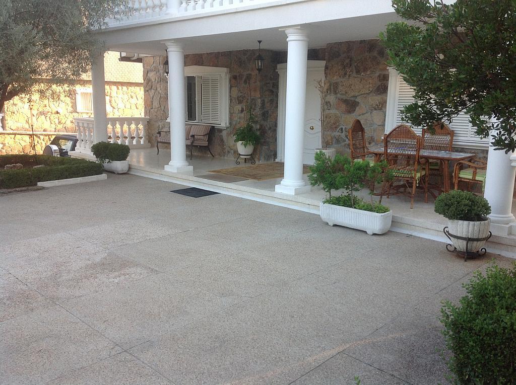 Terraza - Chalet en alquiler en calle Real, Alpedrete - 266259857