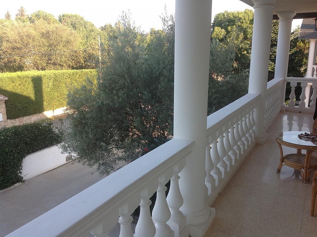 Terraza - Chalet en alquiler en calle Real, Alpedrete - 266260459