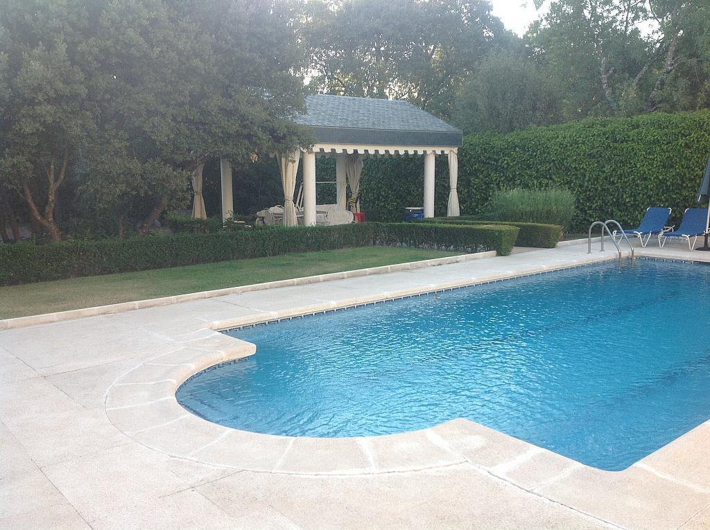 Jardín - Chalet en alquiler en calle Real, Alpedrete - 266260651