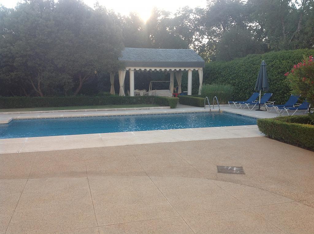 Jardín - Chalet en alquiler en calle Real, Alpedrete - 266263305