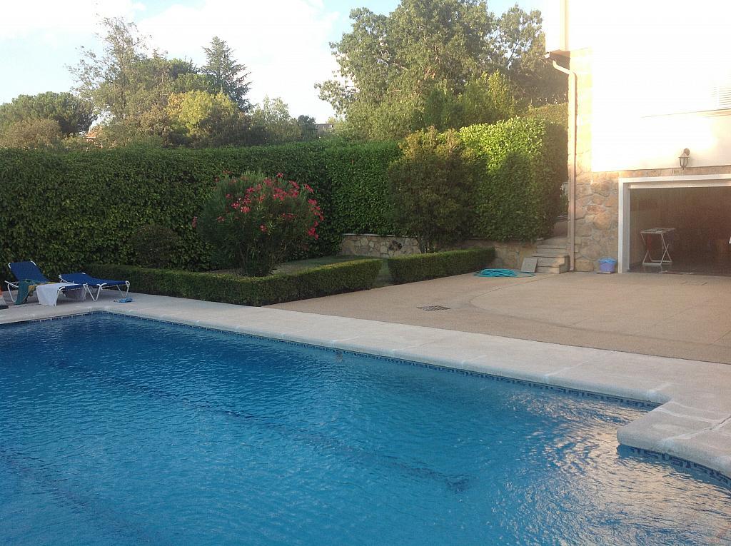 Jardín - Chalet en alquiler en calle Real, Alpedrete - 266263312