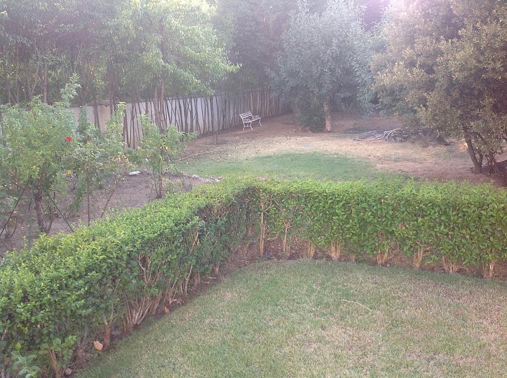 Jardín - Chalet en alquiler en calle Real, Alpedrete - 266263330