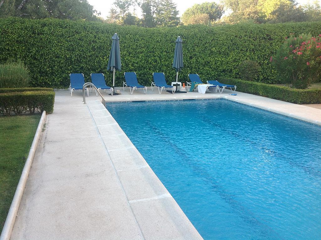 Jardín - Chalet en alquiler en calle Real, Alpedrete - 266263350
