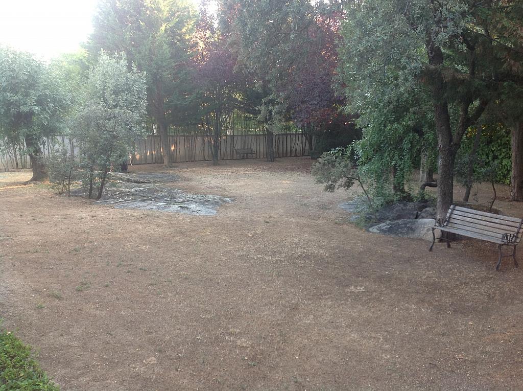 Jardín - Chalet en alquiler en calle Real, Alpedrete - 266263386