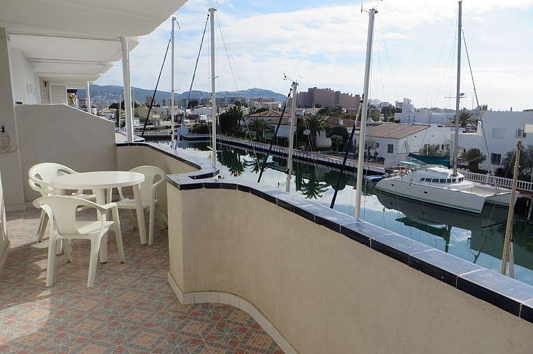 Terraza - Apartamento en venta en Roses - 261885535