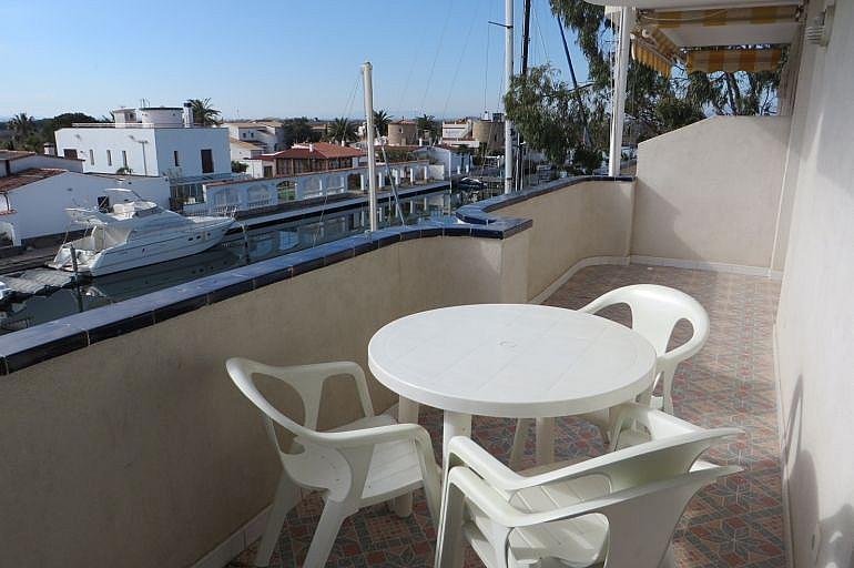 Terraza - Apartamento en venta en Roses - 261885538