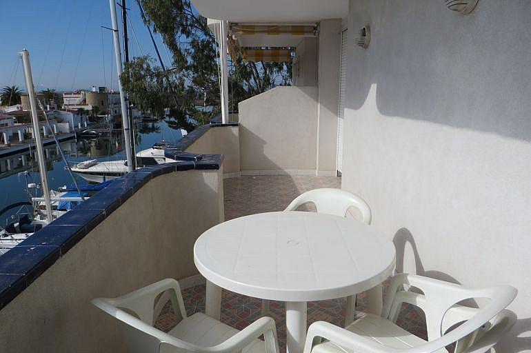 Terraza - Apartamento en venta en Roses - 261885565