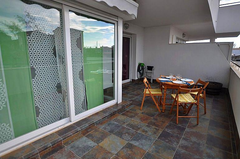 Terraza - Apartamento en venta en Roses - 279515451