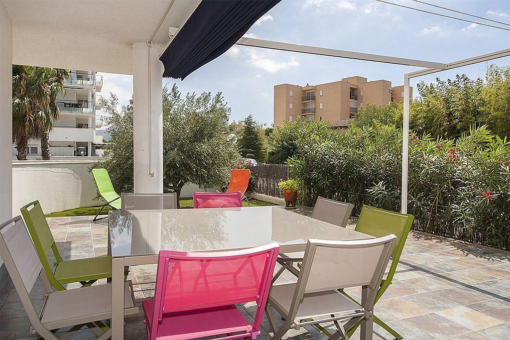Terraza - Apartamento en venta en Roses - 256341736