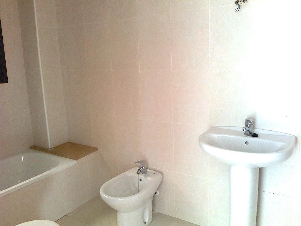 Baño - Piso en alquiler en calle Rei Jaume II, Olot - 256403199