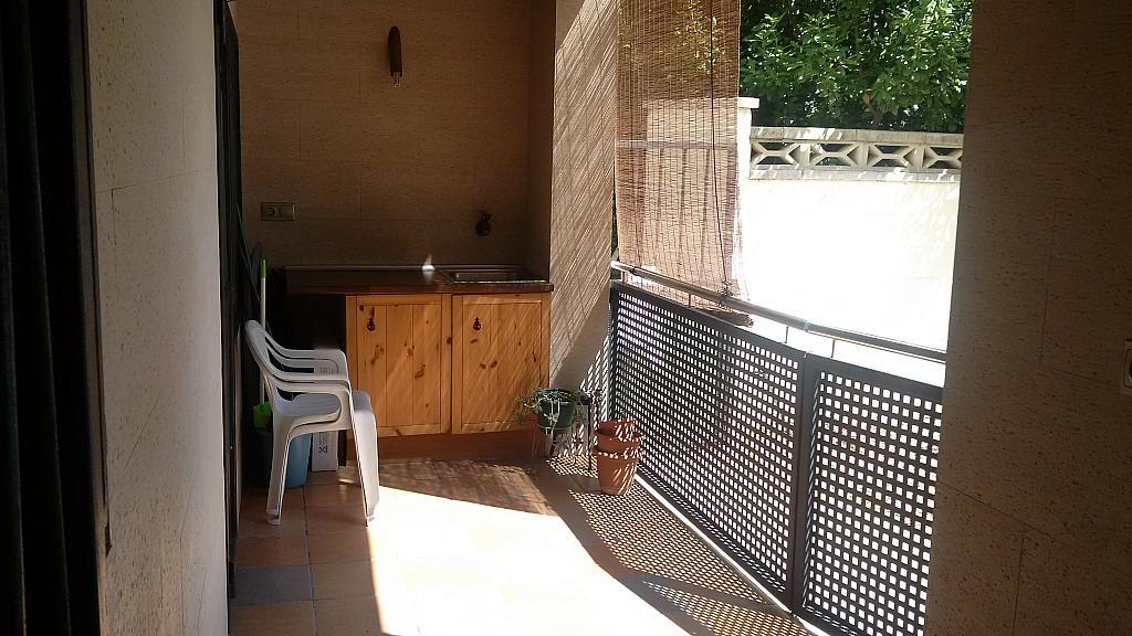 Terraza - Apartamento en venta en calle Orenetes, Clarà en Torredembarra - 318430033