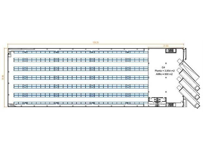 Nave industrial en alquiler en calle Llinars Park, Llinars del Valles - 165319498