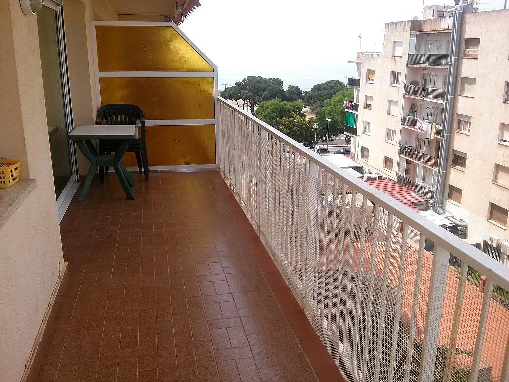 Terraza - Piso en alquiler en calle Barcelona Pza Sardana, Malgrat de Mar - 141717960