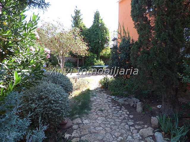 Terraza - Chalet en alquiler en calle Montealegre, Montealegre en Eliana (l´) - 315296408
