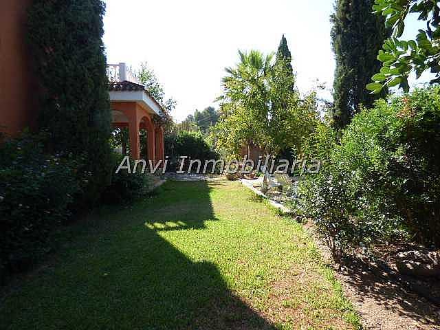 Jardín - Chalet en alquiler en calle Montealegre, Montealegre en Eliana (l´) - 315296412