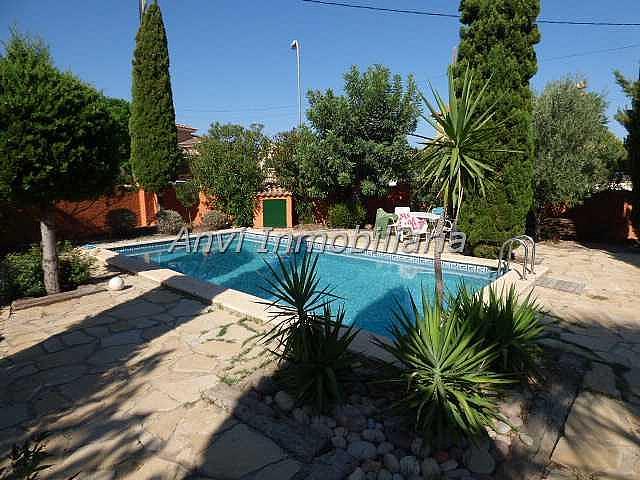 Terraza - Chalet en alquiler en calle Montealegre, Montealegre en Eliana (l´) - 315296418