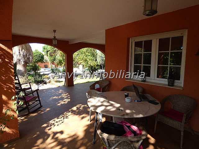 Terraza - Chalet en alquiler en calle Montealegre, Montealegre en Eliana (l´) - 315296470