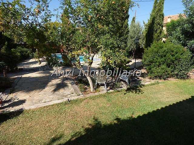 Terraza - Chalet en alquiler en calle Montealegre, Montealegre en Eliana (l´) - 315296476