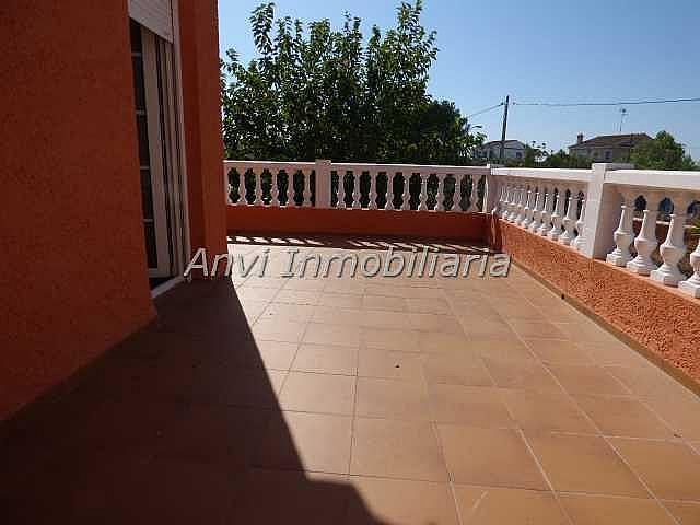 Terraza - Chalet en alquiler en calle Montealegre, Montealegre en Eliana (l´) - 315296486