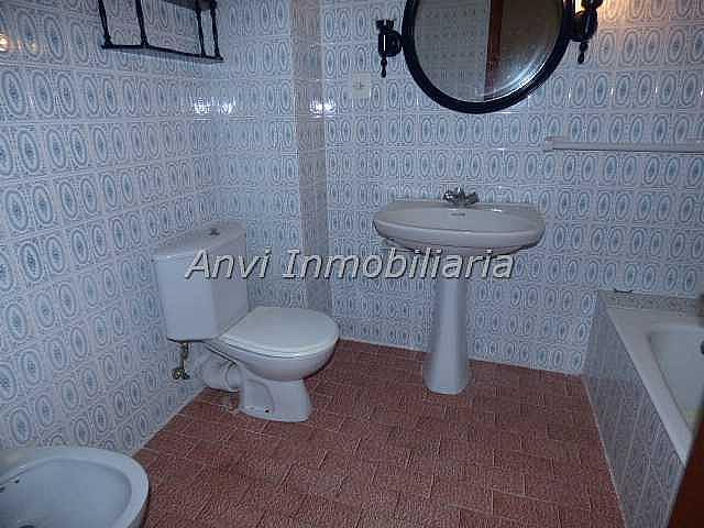 Baño - Piso en alquiler en calle Con Vistas Al Castillo, Benisanó - 327641559