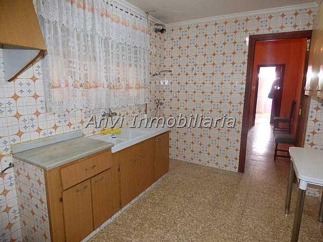 Cocina - Piso en alquiler en calle Con Vistas Al Castillo, Benisanó - 327641560