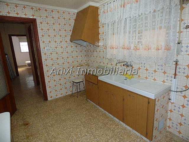 Cocina - Piso en alquiler en calle Con Vistas Al Castillo, Benisanó - 327641563