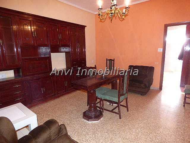 Salón - Piso en alquiler en calle Con Vistas Al Castillo, Benisanó - 327641569