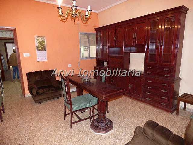 Salón - Piso en alquiler en calle Con Vistas Al Castillo, Benisanó - 327641576