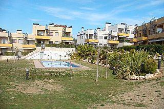 Jardín - Apartamento en venta en calle Josep Maiol, Masia blanca en Coma-Ruga - 42685226
