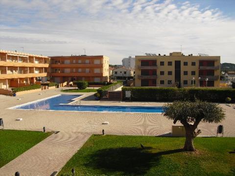 Piscina - Apartamento en venta en calle General Prim, La barquera en Roda de Barà - 43102314