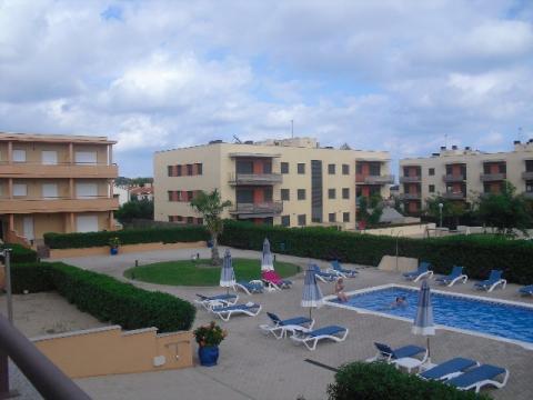 Piscina - Apartamento en venta en calle General Prim, La barquera en Roda de Barà - 43102323