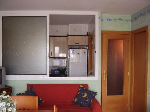 Cocina - Apartamento en venta en calle Blasco Ibañez, El francás en Coma-Ruga - 44955053