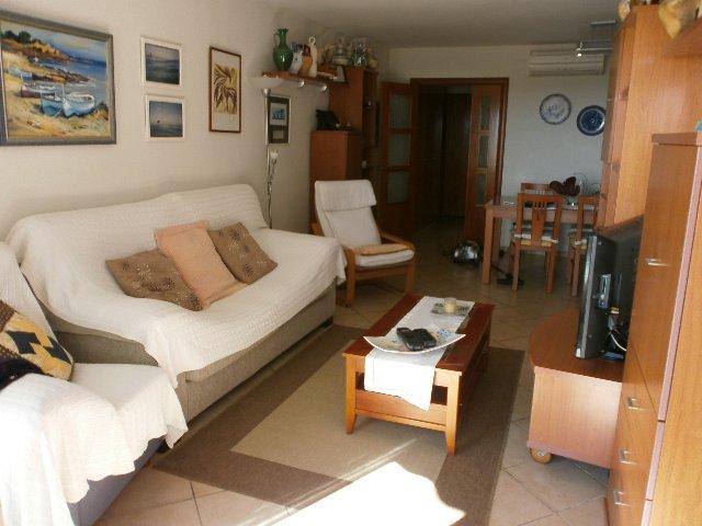 Salón - Apartamento en venta en calle Ferrocarill, Creixell - mar en Creixell - 109455155