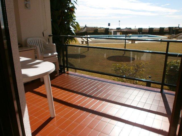 Terraza - Apartamento en venta en calle Ferrocarill, Creixell - mar en Creixell - 109455160