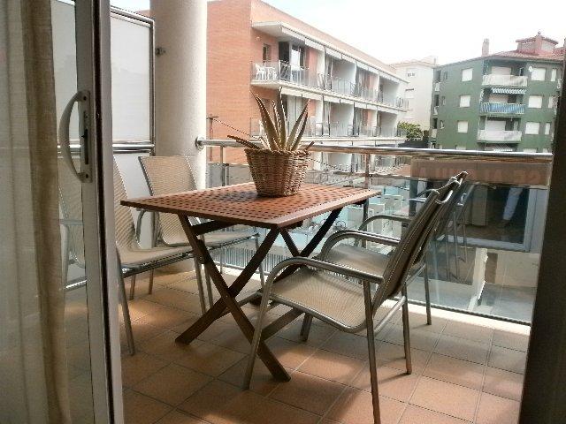Terraza - Apartamento en venta en calle Nausica, Coma-Ruga - 122137239