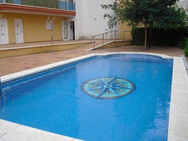 Piscina - Apartamento en venta en calle Nausica, Coma-Ruga - 122137265