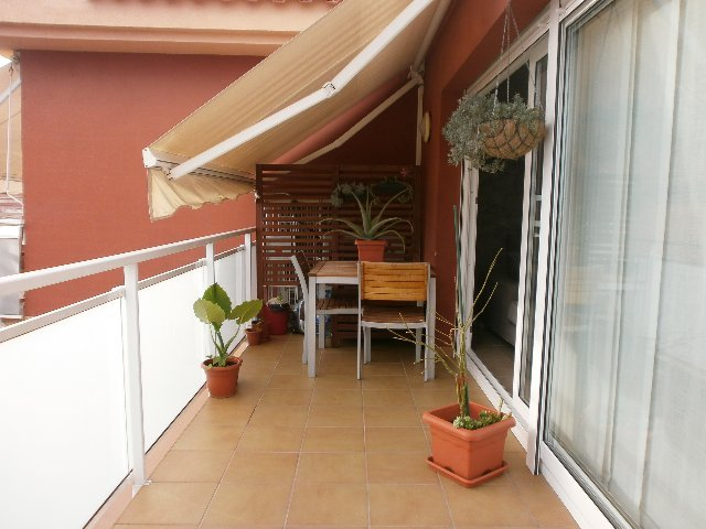 Terraza - Apartamento en venta en calle Lisboa, Casc antic en Roda de Barà - 122827293