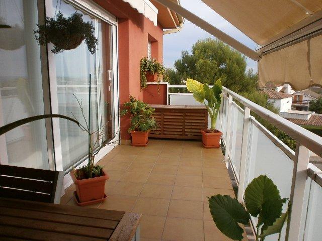 Terraza - Apartamento en venta en calle Lisboa, Casc antic en Roda de Barà - 122827294