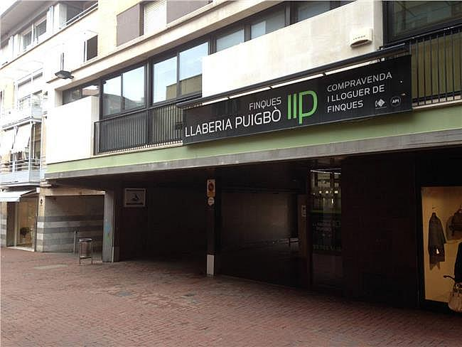 Parking en alquiler en calle Unió, Barri del Centre en Terrassa - 352748705